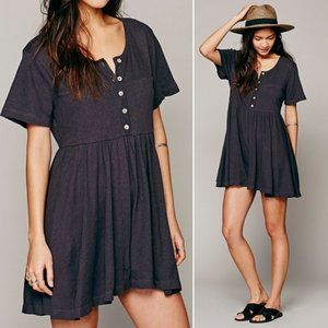 Free People • FP Beach   Who's That Girl White Baby Doll Romper ~ NWT